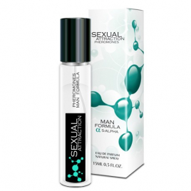 Sexual Attraction Pheromones - Man Formula 5-alpha - 15ml